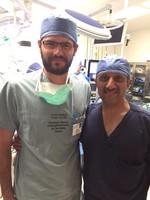 El Dr. Gill y el Dr. Belloso