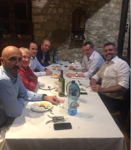 DUO 16. Los Drs. Collado, Solsona, Rubio, Sanz Jaka, Mottet y Dal Moro