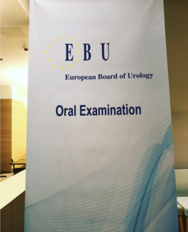 EBU, European Board of Urology