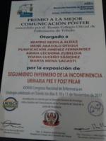 Premio a la Mejor Comunicación Póster, ENFURO 17