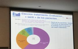 La opinión del paciente en la elección del tratamiento según el IMM de París.