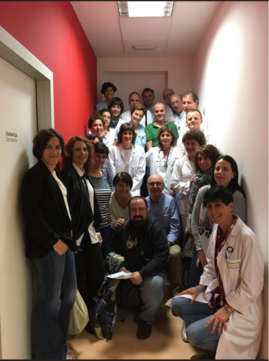 Grupo participante del WOCA sobre el Nuevo Modelo de Formación de la OSI Donostialdea