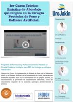 Ier Curso de Disección anatómica en cirugía de prótesis peneana y esfínter artificial