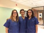 la Dra Maialen del Canto del Hospital Universitario Donostia junto a la Dra Ana Sánchez del Hospita