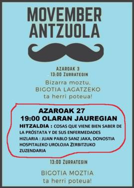 Movember Antzuola