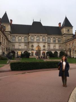 La Dra. Villafruela en París