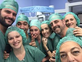 Mil cirugías robóticas urológicas Hospital Universitario Donostia